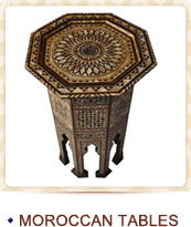 Click to Shop Moroccan Tables